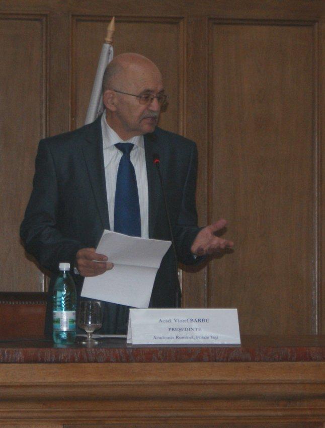 Academicianul Viorel Barbu