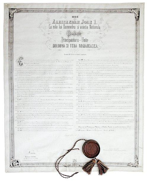 Actul de înființare al Universității