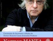 Afis Norman Manea DHC
