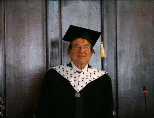 Profesorul Pascal Salin, Doctor Honoris Causa al UAIC