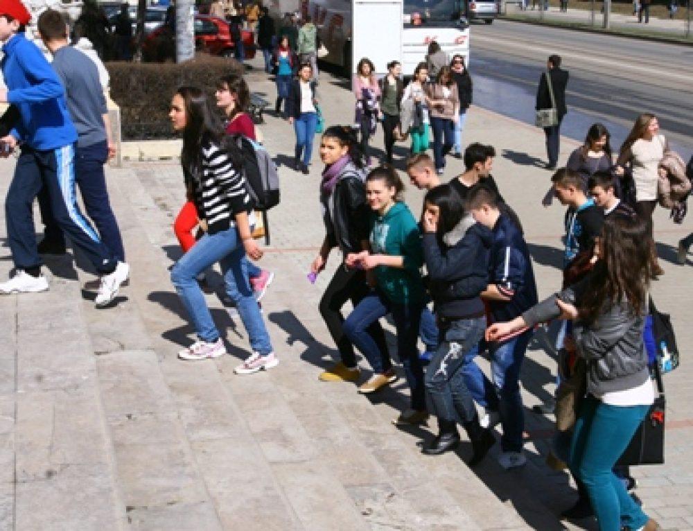 Elevi în vizită la UAIC