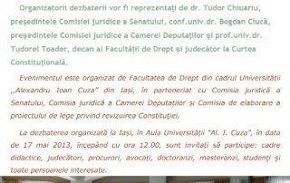 Conferinta Drept - Constituţie