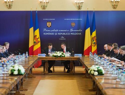 Prima şedinţă comună a Guvernelor României şi Republicii Moldova a avut loc la UAIC