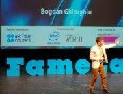 Bogdan Ghiorghiu, student la Facultatea de Fizică, a câştigat finala naţionlă Famelab