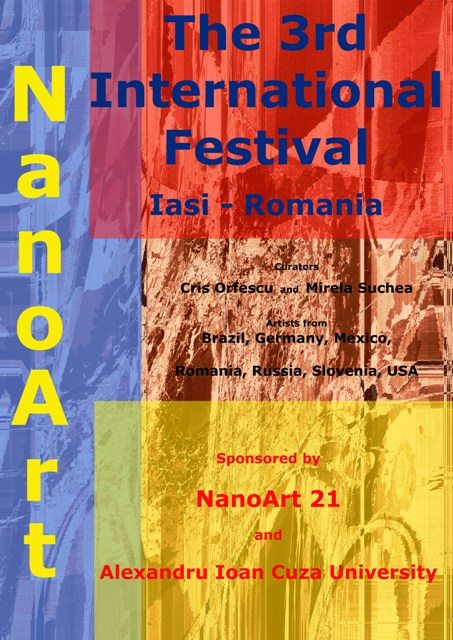 poster NanoArt 3 international festival