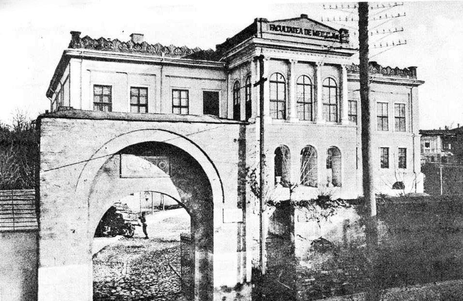 facultatea de medicina(universitatea veche)