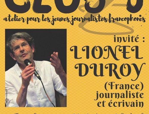 Club J: atelier pour les jeunes journalistes francophones