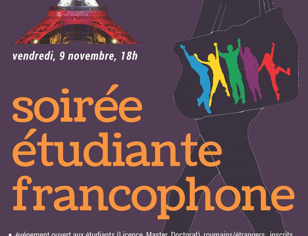 Soirée étudiante francophone