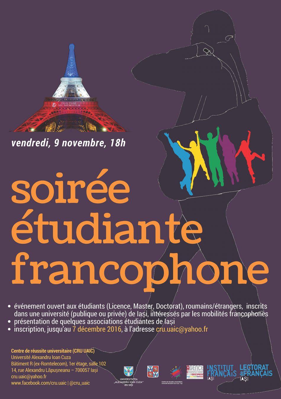 Soiree Etudiante Francophone Universitatea Alexandru Ioan Cuza