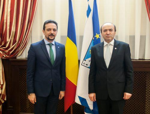 Întâlnire cu domnul secretar de stat Daniel Șandru, coordonatorul Departamentului Centenar din Guvernul României