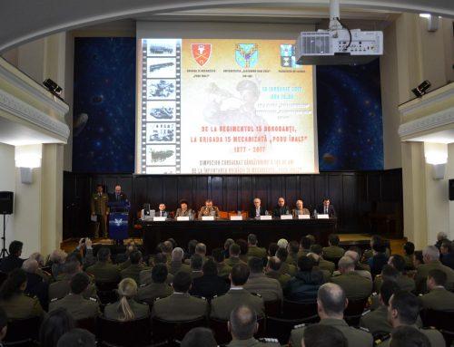 """Participare la aniversarea a 140 de ani de la înfiinţarea Brigăzii 15 Mecanizate """"Podu Înalt""""."""