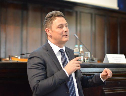 Președintele Executiv al B.C.R. România, ec. Sergiu Manea a conferențiat la UAIC