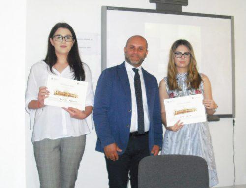 Bursă de studiu în Italia pentru două studente de la Facultatea de Litere