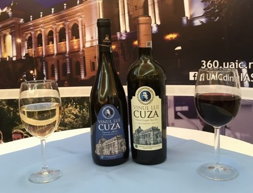 "S-a lansat ""Vinul lui Cuza"", un produs marca UAIC"