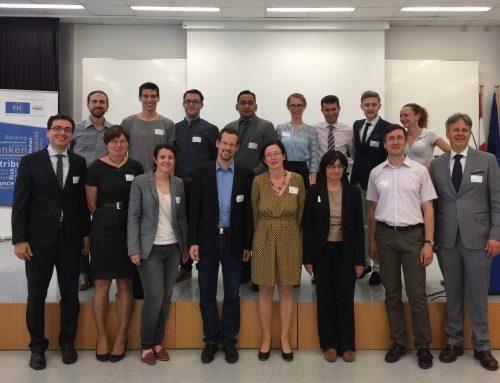 Proiect internațional destinat programelor de master în finanțe, la final