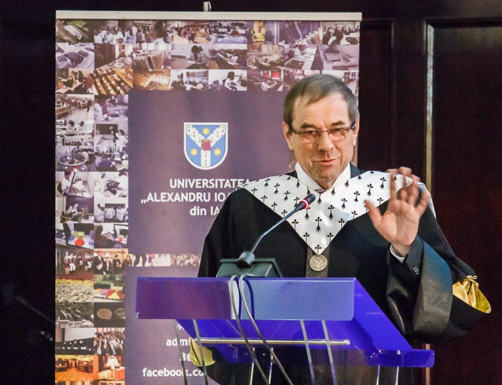 Decernarea titlului de Doctor Honoris Causa domnului Prof. dr. Rolf HEMPELMANN