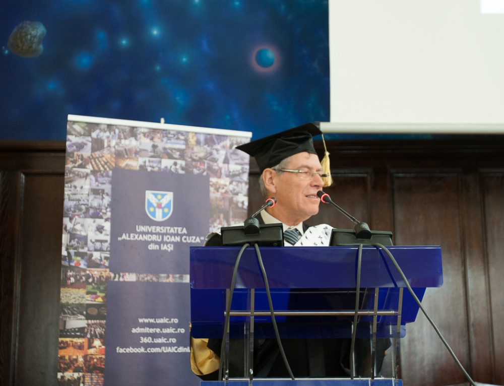 Ceremonia de acordare a titlului de Doctor Honoris Causa domnului Prof. dr. emerit Jean-Paul CARRIÈRE