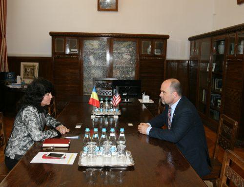 Vice-Consul al Ambasadei S.U.A. în vizită la UAIC