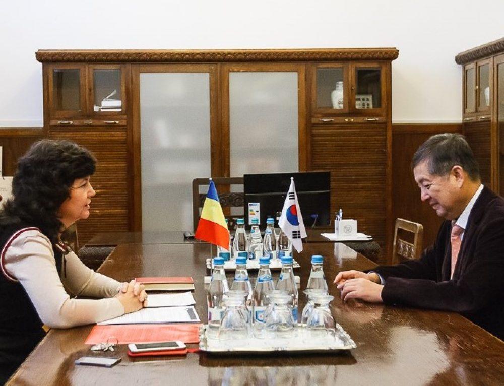 Conducerea UAIC s-a întâlnit cu Ambasadorul Republicii Coreea