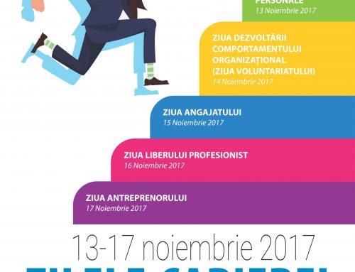"""Zilele Carierei la Universitatea """"Alexandru Ioan Cuza"""" din Iași"""