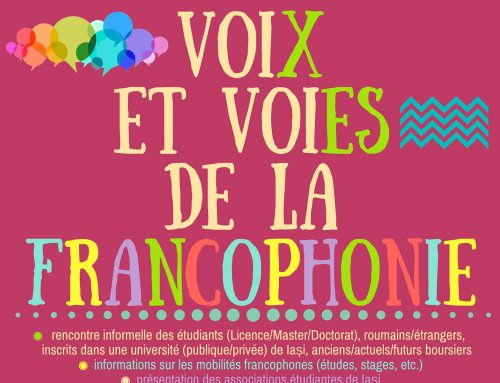 Soirée CRU UAIC – Voix et voies de la francophonie