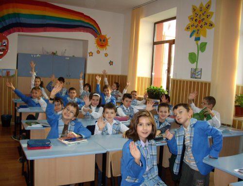 Înscrieri la Grădinița și Școala Junior