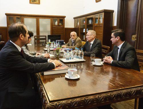 Președintele Emil Constantinescu, vizită la UAIC