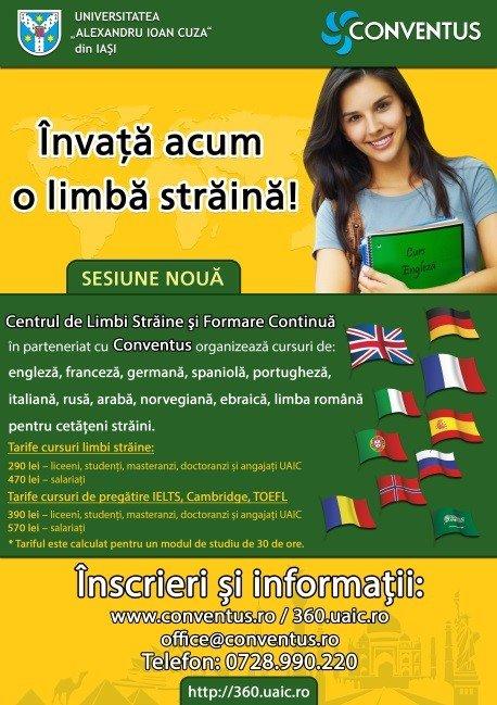 Centrul De Limbi Străine și Formare Continuă Universitatea