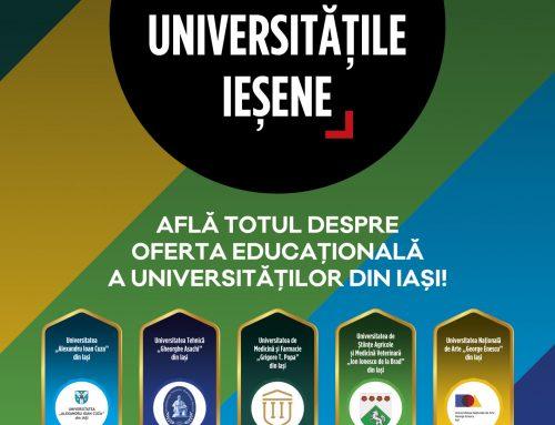 """UAIC, prezentă la evenimentul """"Admitere la Universitățile Ieșene"""""""