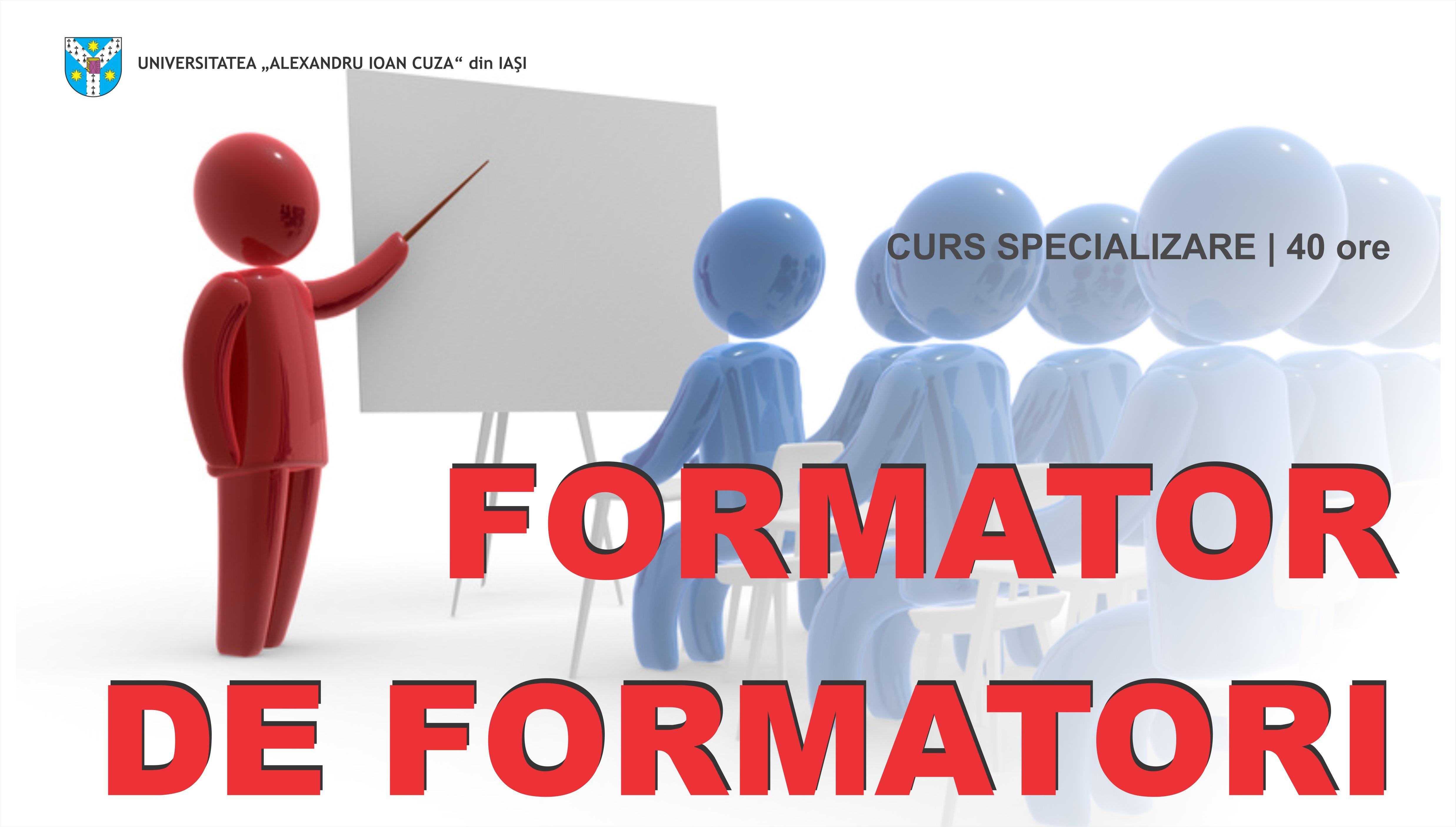 Curs De Perfecționare Formator De Formatori Universitatea