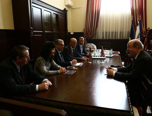Ambasadorul Regatului Unit al Marii Britanii a vizitat UAIC