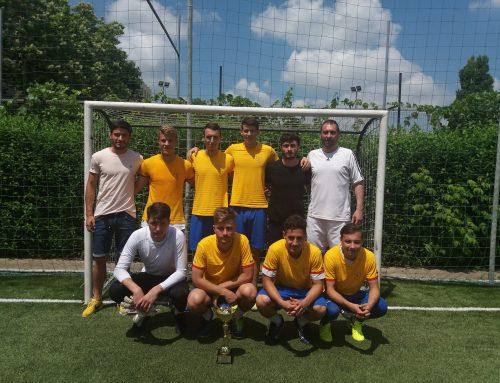 """Echipa de fotbal a UAIC, campioană la Concursul Național Studențesc """"Fă pasul spre sport"""""""