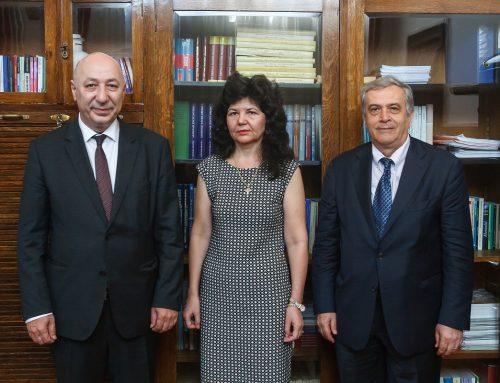 Ambasadorul Georgiei a vizitat UAIC