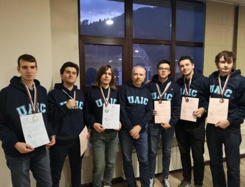 Medalii de argint și bronz pentru UAIC la concursul internațional de matematică SEEMOUS 2019