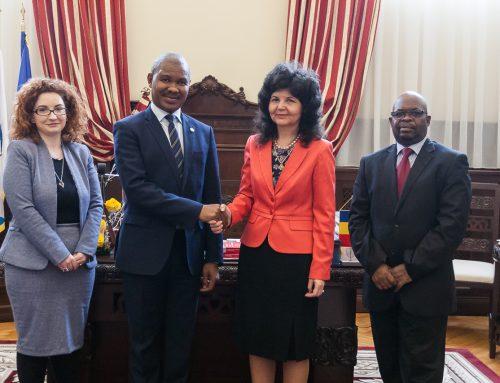 Ambasadorul Africii de Sud în România a efectuat o vizită oficială la UAIC