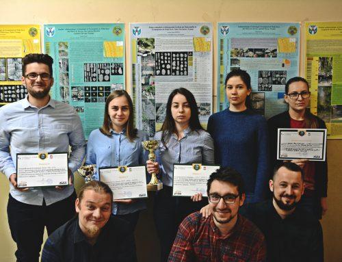 Studenții UAIC, premianți din nou la Simpozionul Național al Studenților Geologi și Geofizicieni