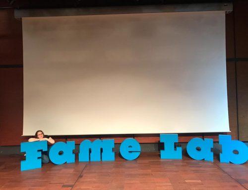 Studentă a Facultății de Fizică, premiată la finala națională a concursului FameLab 2019