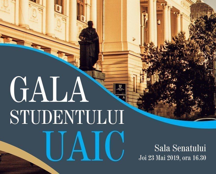 UAIC organizează o gală pentru recunoașterea performanțelor studenților