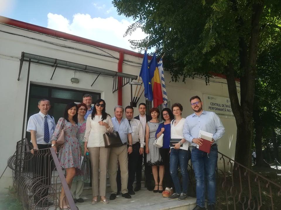 Președintele Agenţiei Române de Asigurare a Calităţii în Învăţământul Superior (ARACIS),  vizită de lucru la UAIC