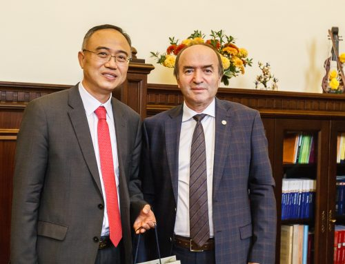 Ambasadorul Republicii Coreea în România a vizitat UAIC