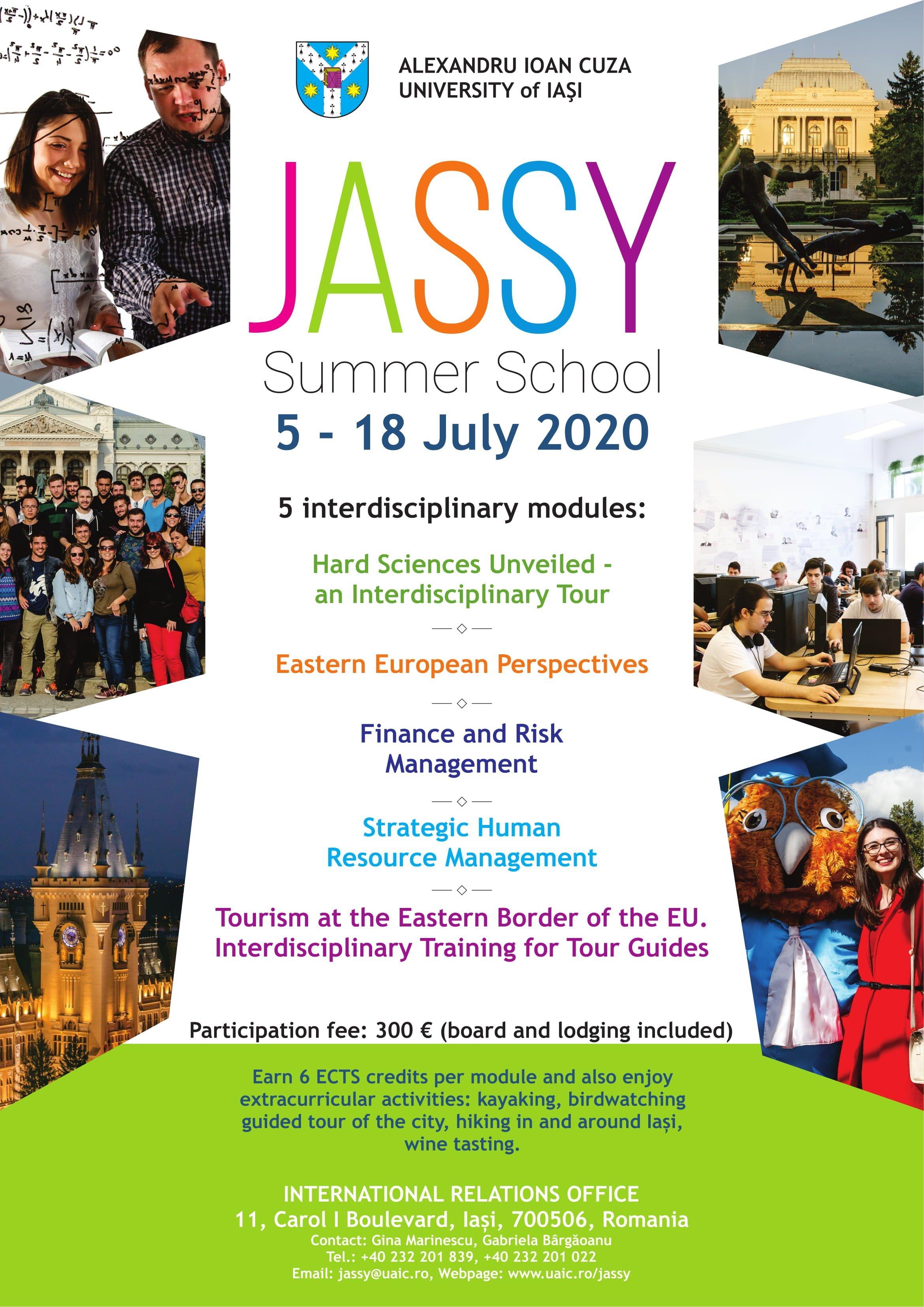 JASSY Summer School 2020