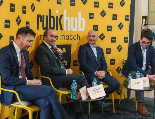 UAIC și ADR Nord-Est au inaugurat Rubik miniHub, primul spațiu de co-working studențesc din Iași