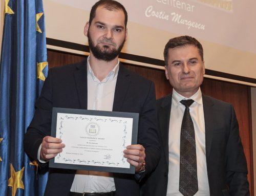 """Un student UAIC a câștigat concursul """"Costin Murgescu"""""""