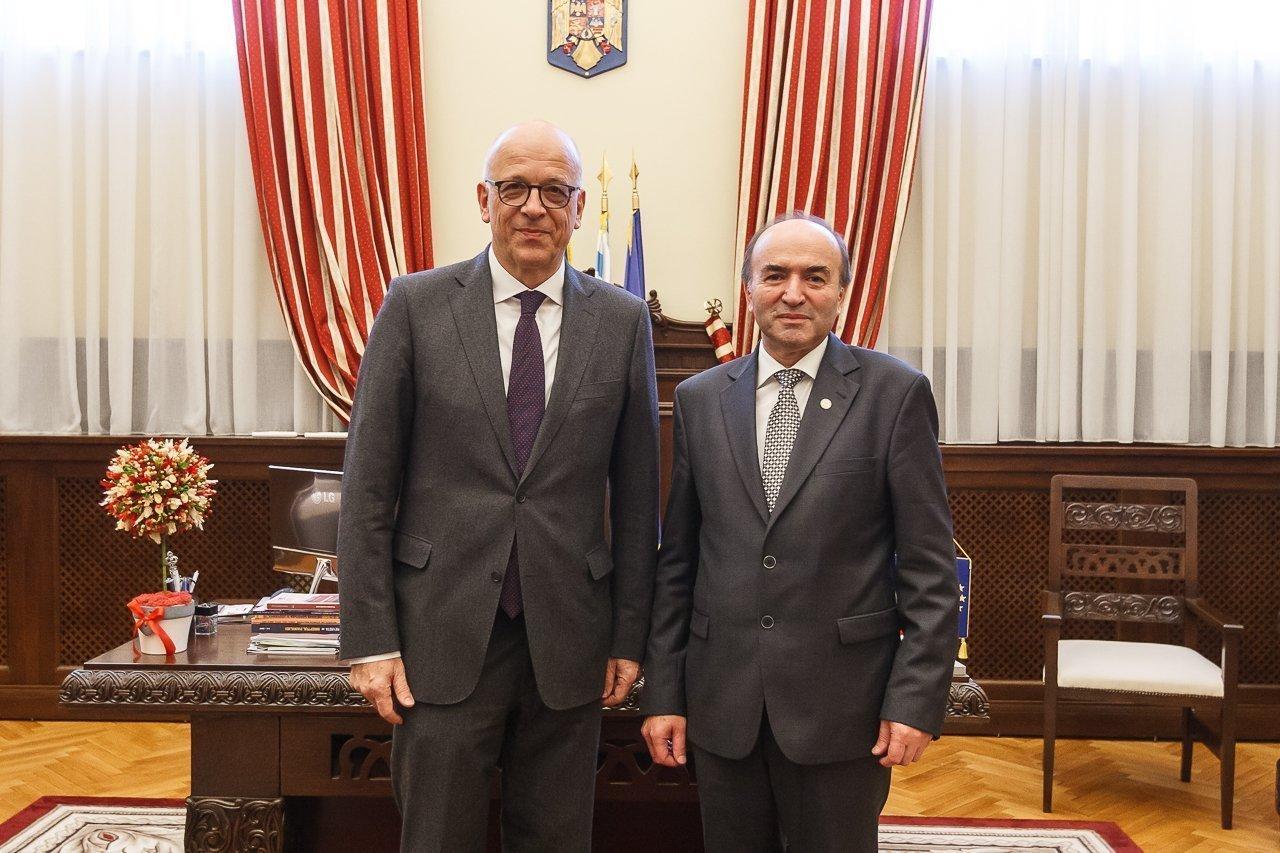 UAIC a primit vizita Ambasadorului Germaniei în România