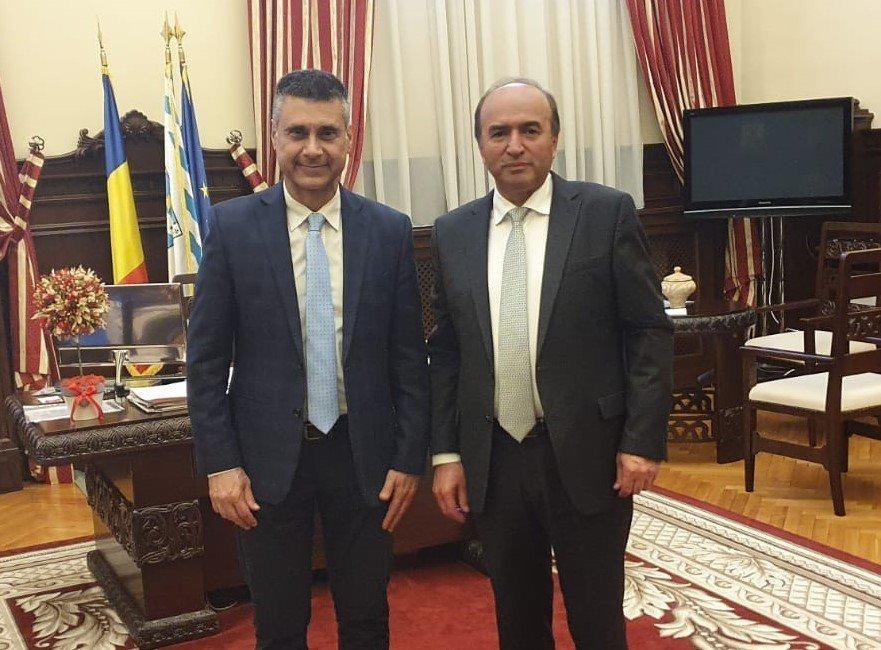 UAIC a primit vizita Ambasadorului Israelului în România