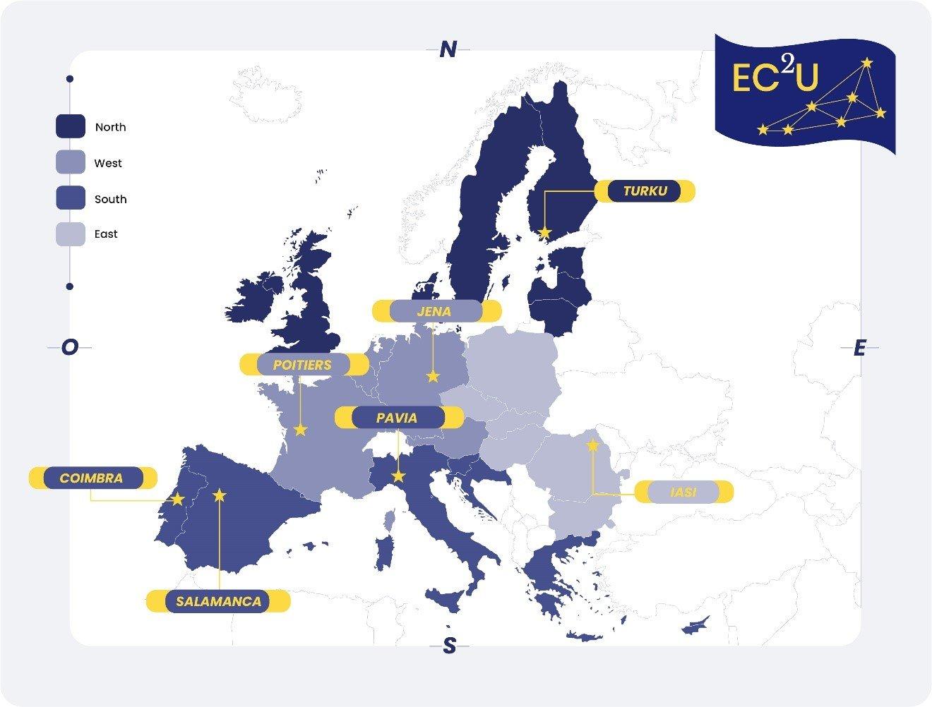 UAIC, membră a alianței universitare EC2U, anunță aprobarea proiectului de creare a Campusului European