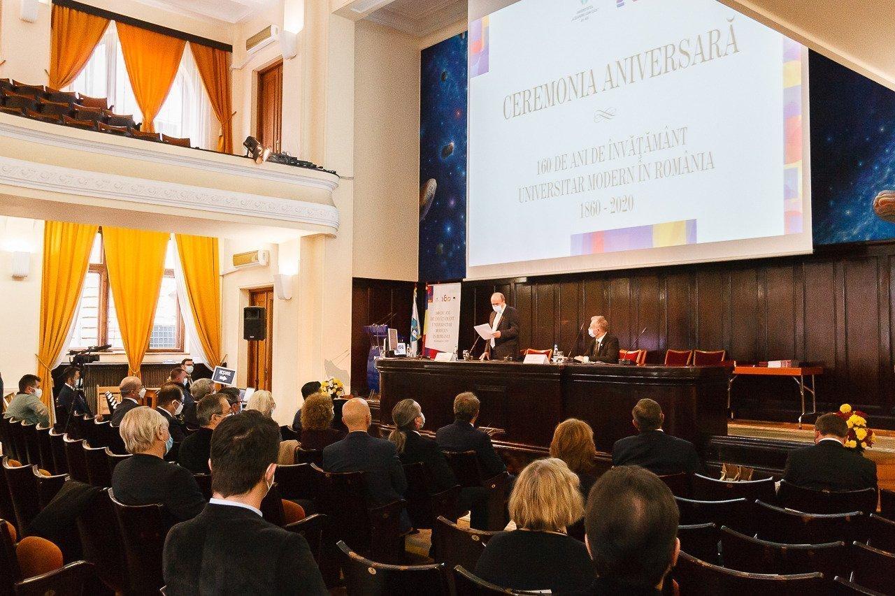 UAIC și UNAGE au sărbătorit împreună 160 de ani de la înființare