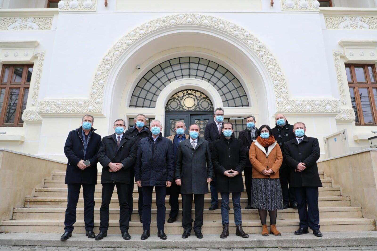 UAIC a efectuat o vizită oficială la Consiliul Județean Vrancea în vederea înființării unei extensiuni la Focșani