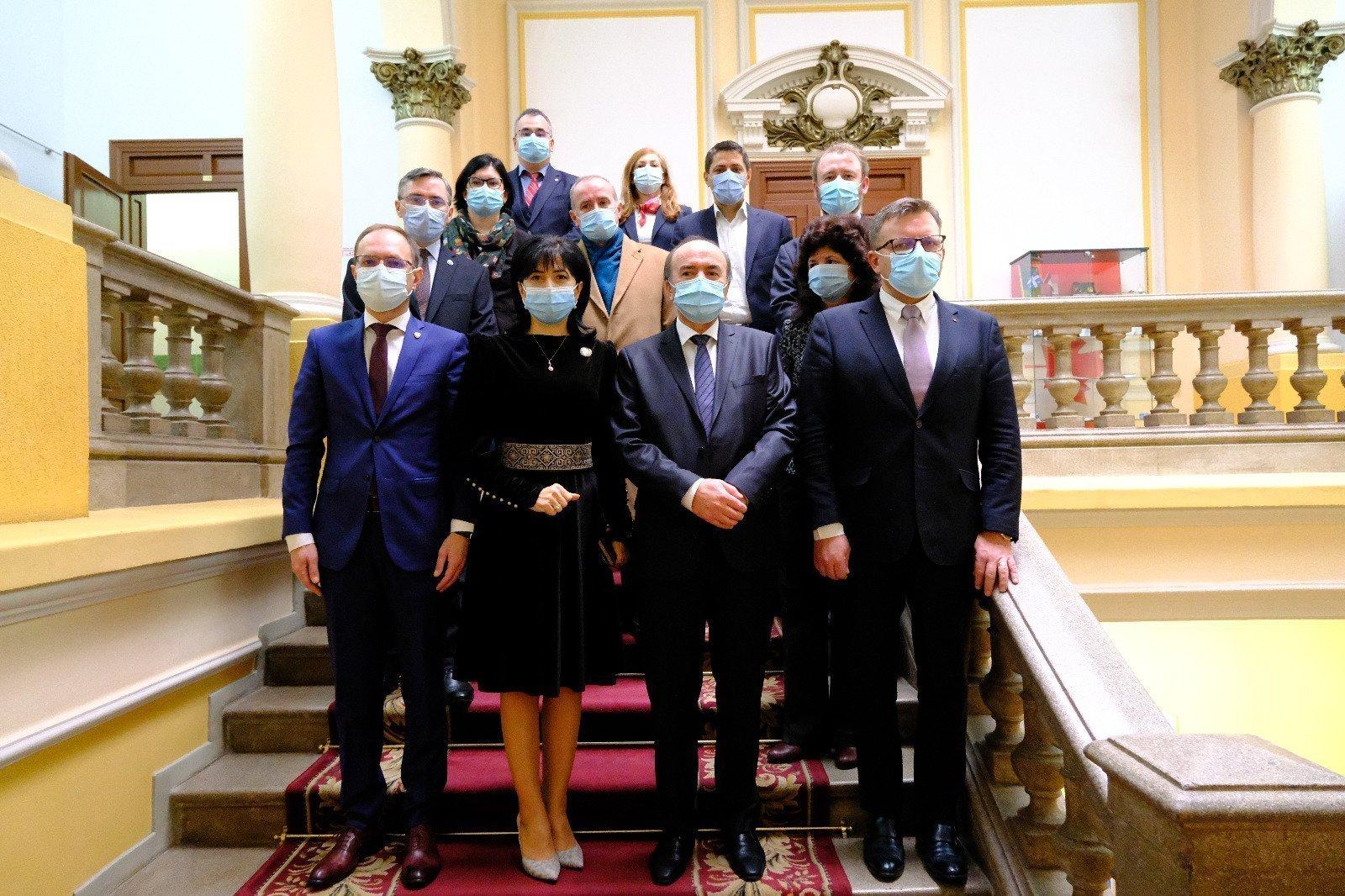 UAIC continuă demersurile pentru înființarea Extensiunii de la Botoșani