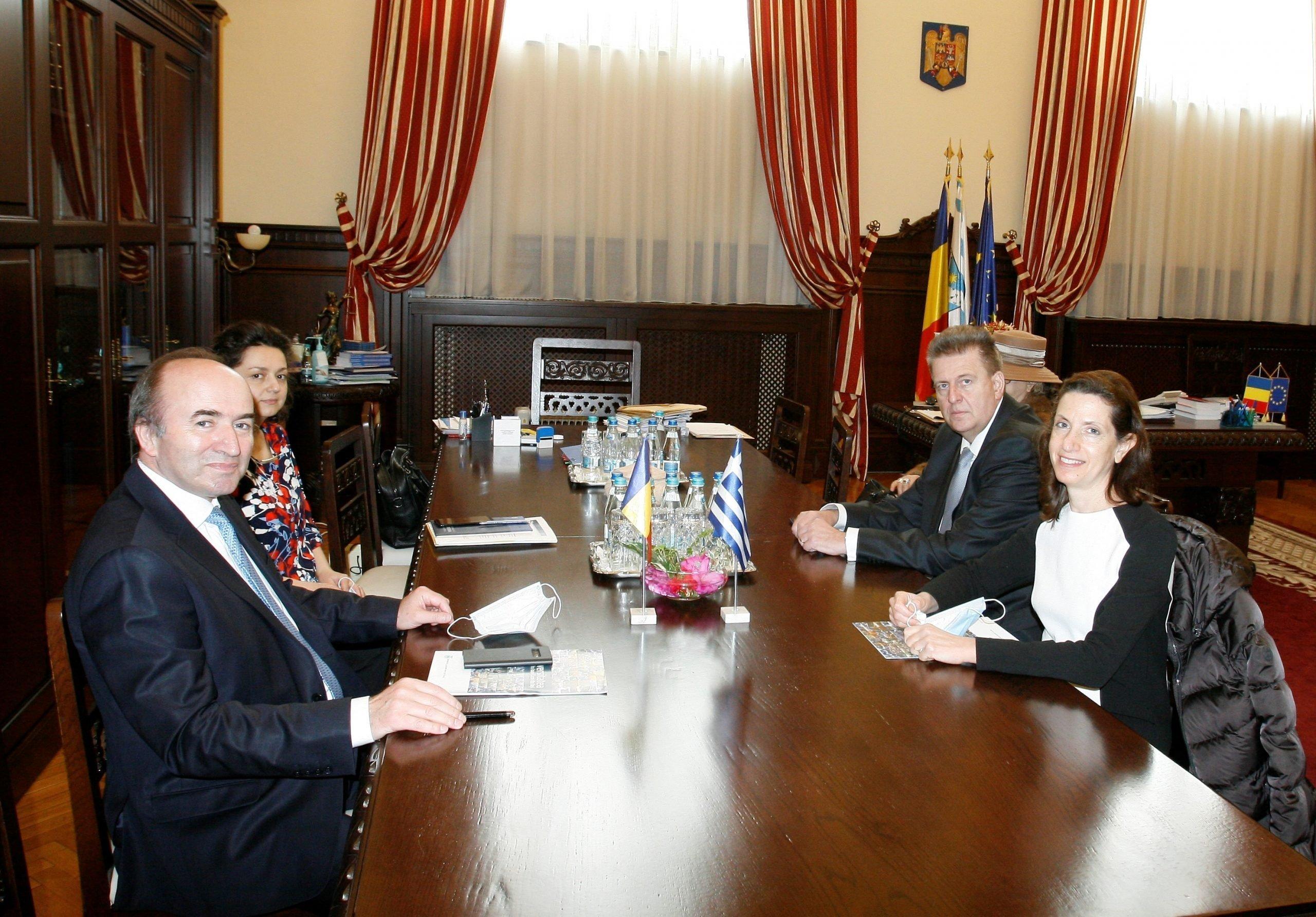Ambasadorul Greciei în România a vizitat UAIC